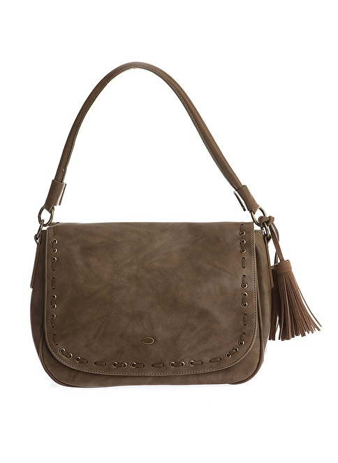 David Jones Messenger / Askılı Çanta Camel
